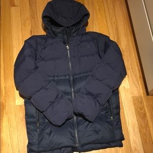 North Face boys youth down puffer
